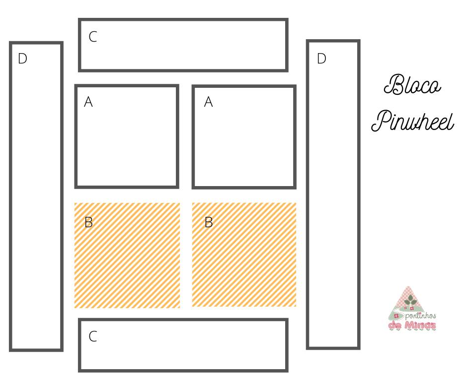 #bloco_pinwheel, #bloco_catavento, #patchwork, #aula_de_patchwork, #aula_de_costura, #colcha_de_retalhos, #quilt, #quilting, #como_fazer_bloco_pinwheel, #pinwheel_block,