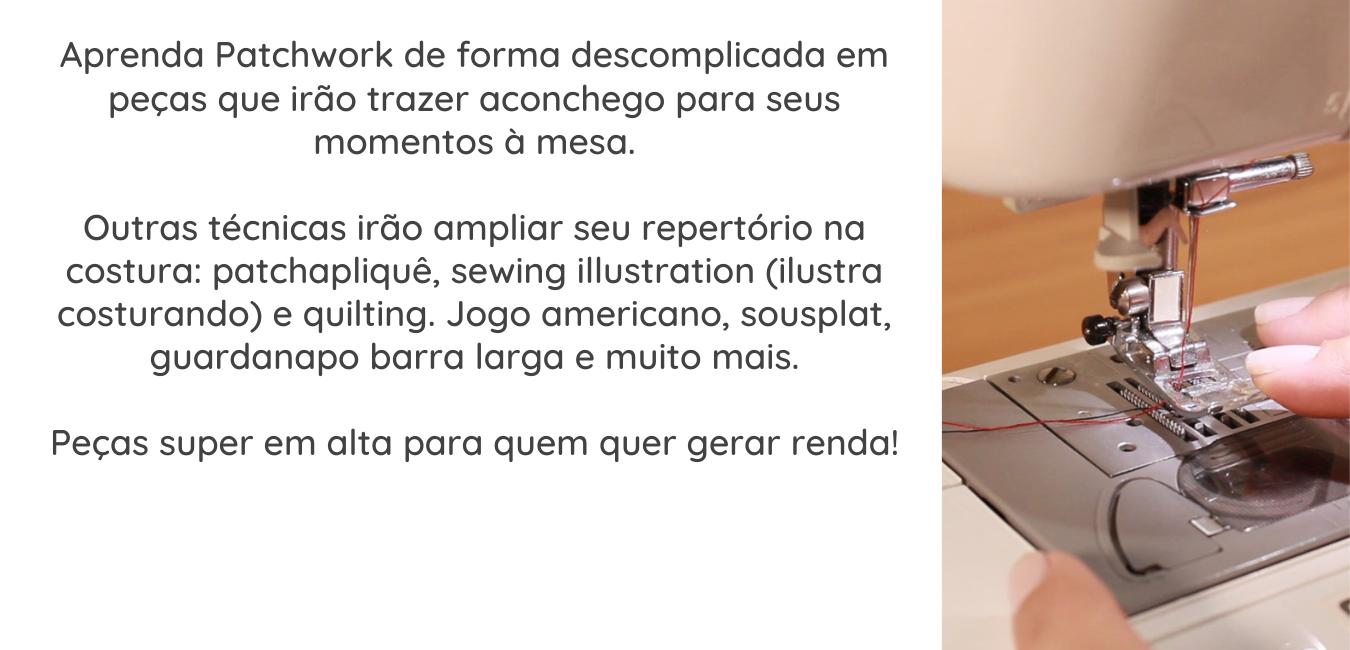 #mesaposta, #pontinhosdeminas, #mesacomaconchego, #meseiras, #cursodepatchwork, #auladepatchwork, #auladecostura